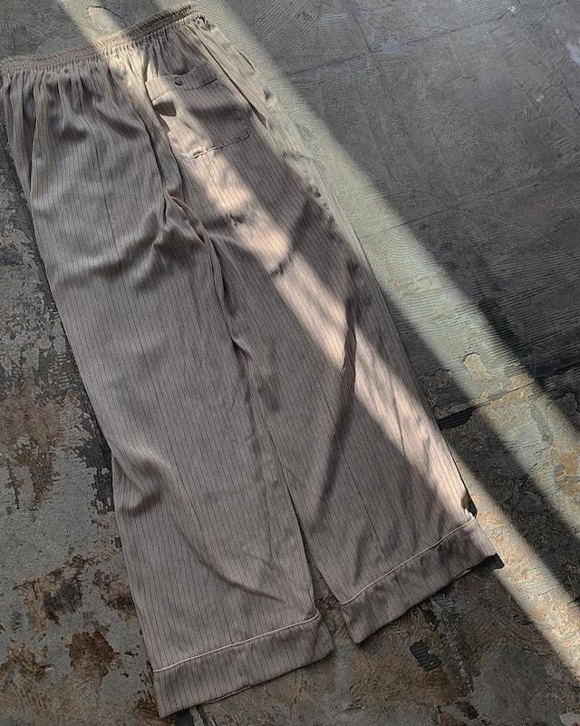 CaNARi 2020aw piping slacks