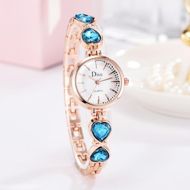 DISU LT-D4067(blue) レディース腕時計