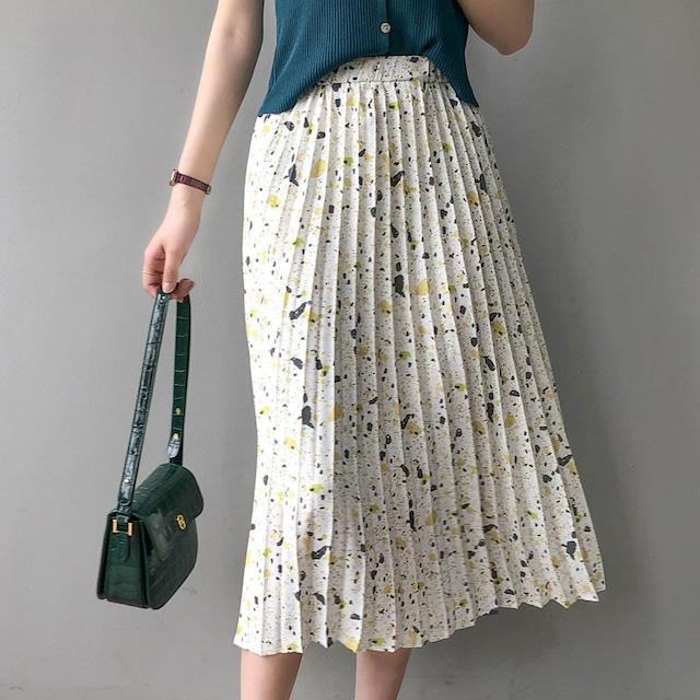 Design pleats skirt KRE831