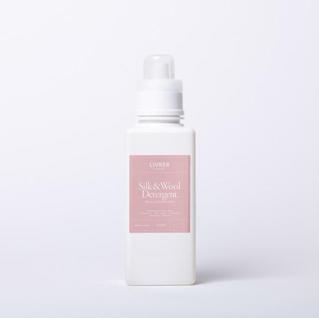 600ml】シルク&ウール デリケート洗剤 /SILK&WOOL  DELICATEWASH  【ローズ&カモミールの香り】 <デリケート繊維用>