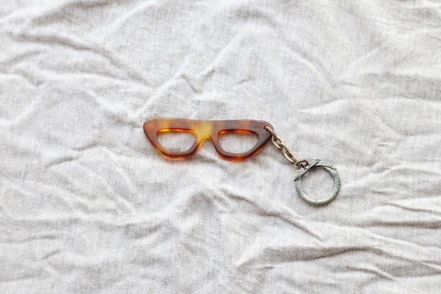 【フランス】メガネのキーホルダー/B.LABURTHE