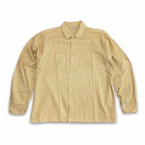 【Styled SPORTSHIRT】60-70s チェックシャツ ペンシルチェック デッドストック Deadstock
