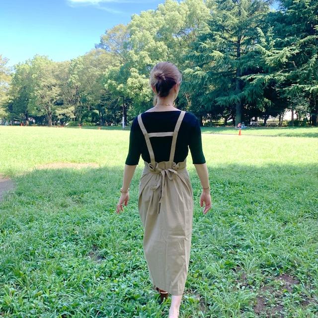 ribbon jumper skirt [2105-48]