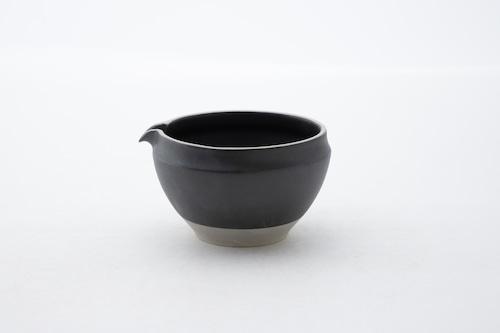 ORIGAMI 片口抹茶碗(ビンテージブラック)