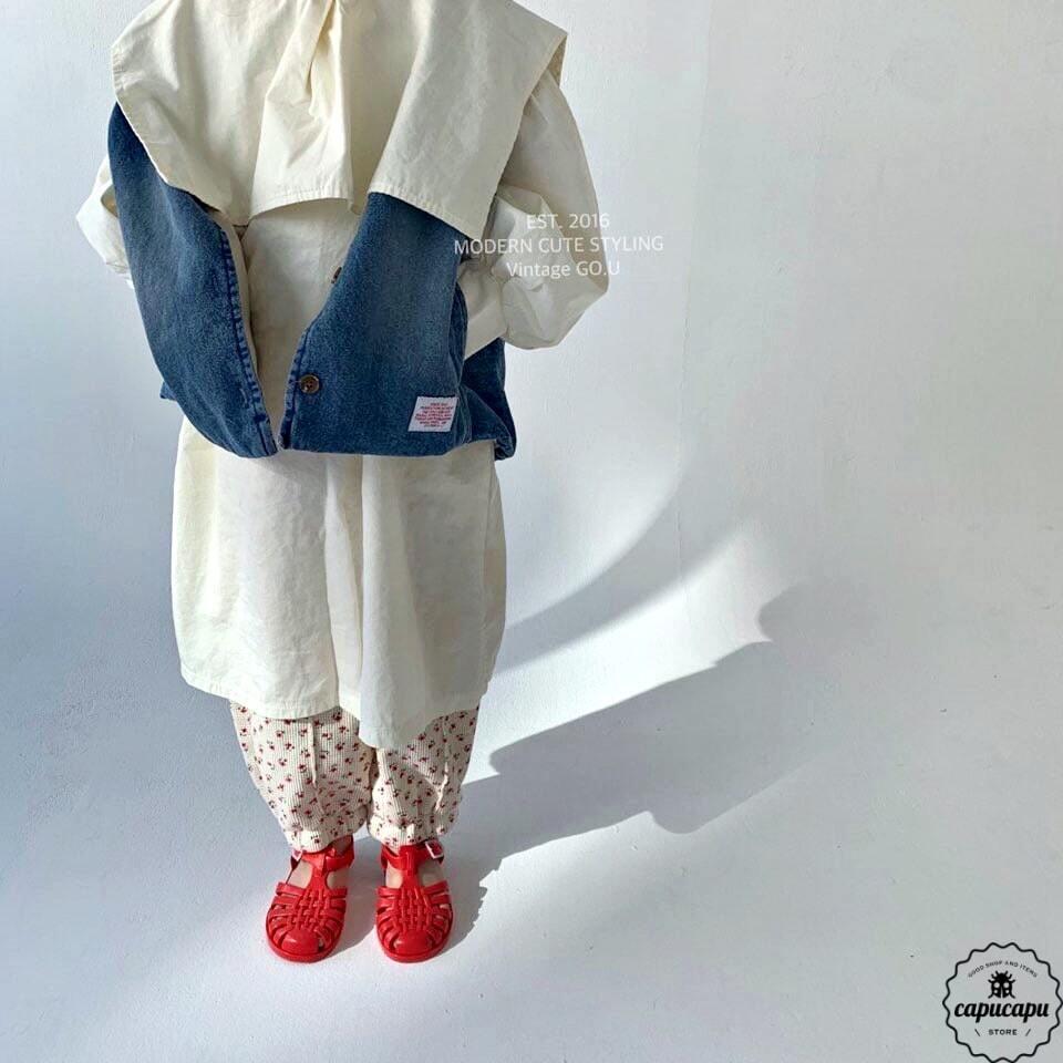 «sold out» go.u denim vest 2colors デニムベスト