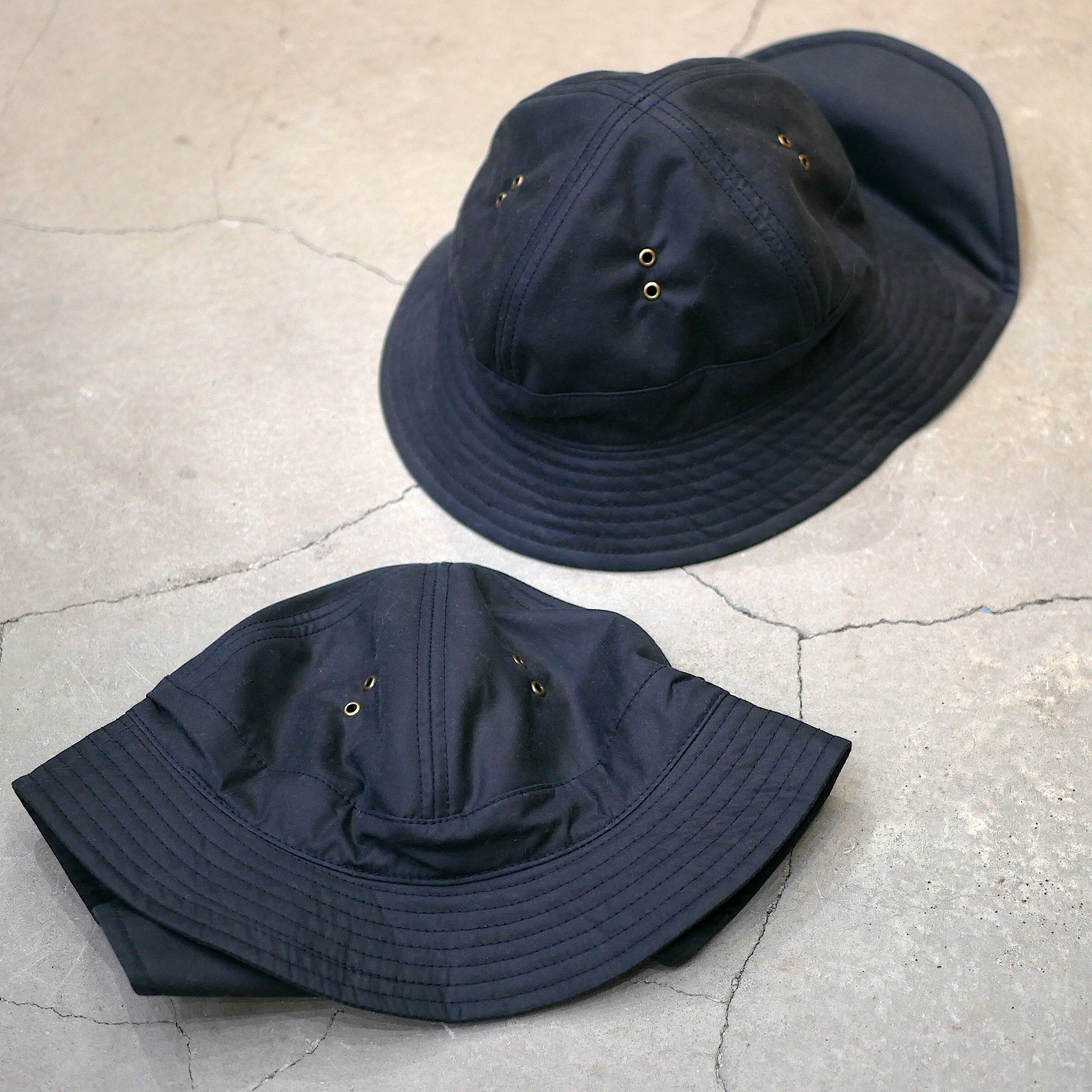 BROWN by 2-tacs / OILED HAT