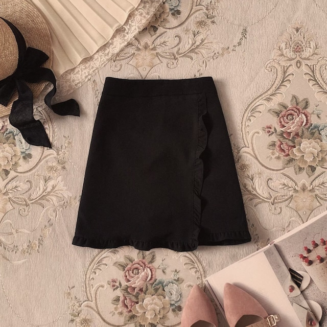 【LAST3】mini frill skirt