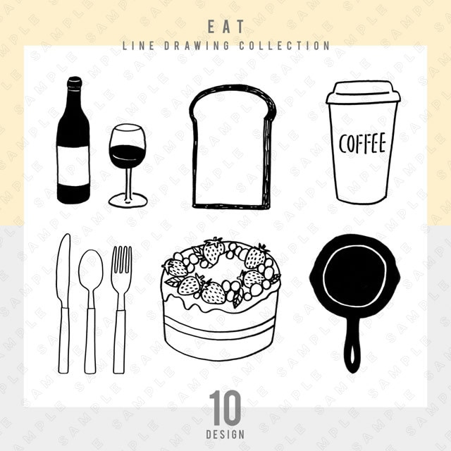 【シンプル】EAT 10点セット