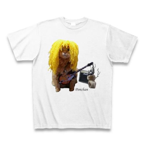Tシャツ ヘヴィメタ野郎のポンちゃん