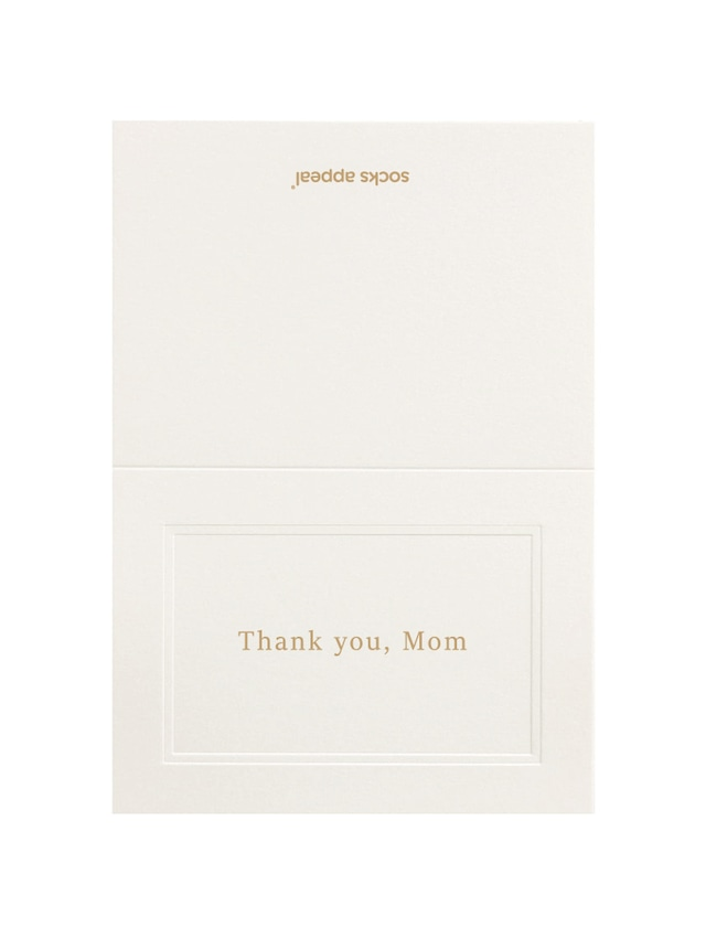 MESSAGE CARD【Thank you, Mom】