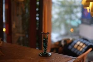 ◆三宅吹硝子工房◆三宅義一◆◆◆『吹き硝子の燭台b』◆◆◆