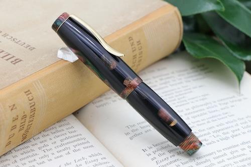 「Symphoniae mini カテドラルブラック」Viriditas手作り万年筆 14金無垢ペン先