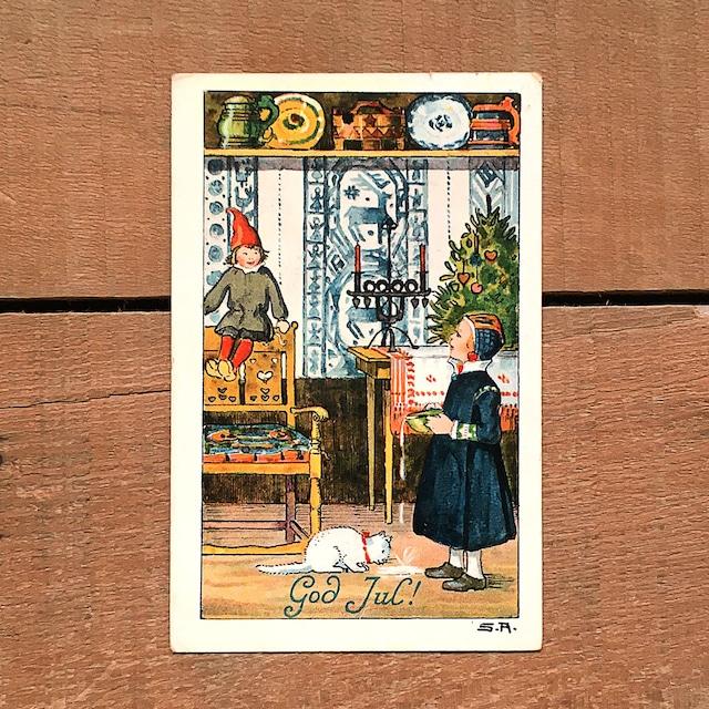 クリスマスカード「Signe Aspelin(シグネ・アスペリーン)」《201208-01》
