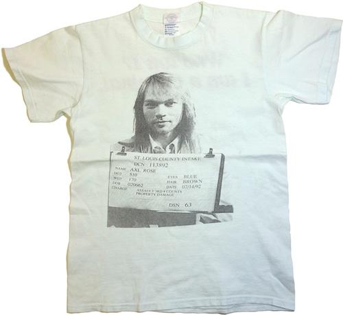90年代 00年代 アクセル・ローズ Tシャツ   ガンズ・アンド・ローゼズ GUNS N′ ROSES ヴィンテージ 古着