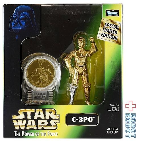 ケナー スター・ウォーズ POTF C-3PO コイン付アクションフィギュア 未開封