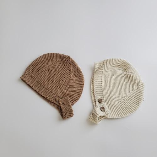 【即納】baby knit bonnet〔ニットボンネット〕 thelala