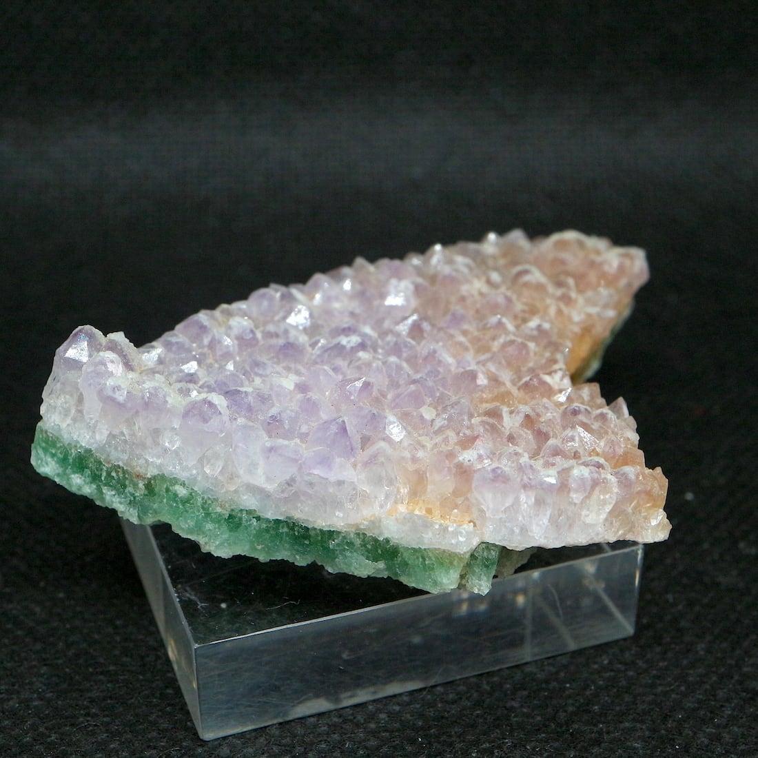 蛍石 フローライト アメジスト  コロラド州産 原石 48,8g FL164 鉱物 天然石 パワーストーン