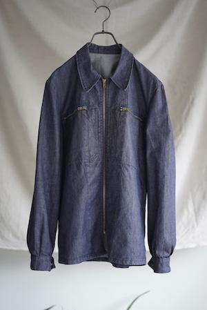 Navy Mechanic Chore Jacket 1960's - French Vintage
