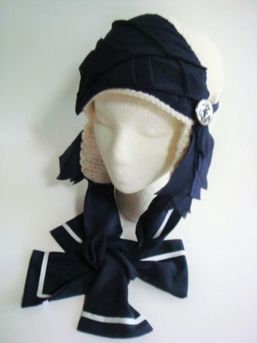 乙女モード系ニット帽