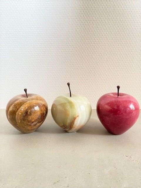 Marble Apple  L size  (ブラウン / グリーン / レッド )