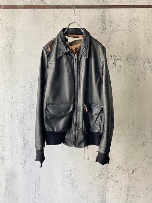 50's custom leather jacket