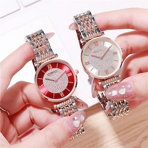 ファッション 綺麗め 合わせやすい レディース 腕時計<ins-2162>