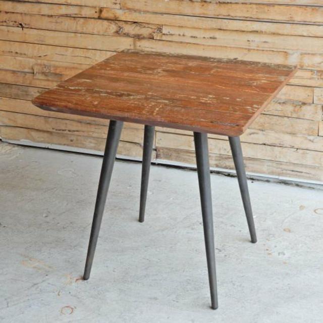 アンティーク チークウッドダイニングテーブル