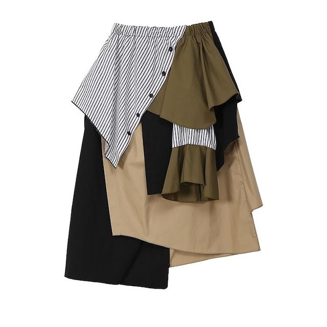 マルチステッチAラインスカート 【210104】
