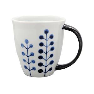 波佐見焼 WAZAN 和山窯 flowers マグカップ ドットツリー 385773