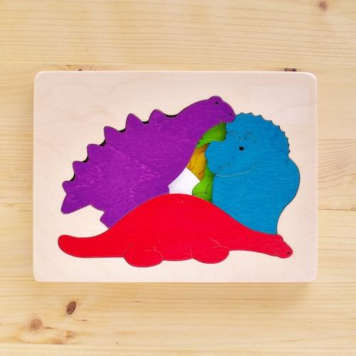 ジョージラック 3重パズル 恐竜