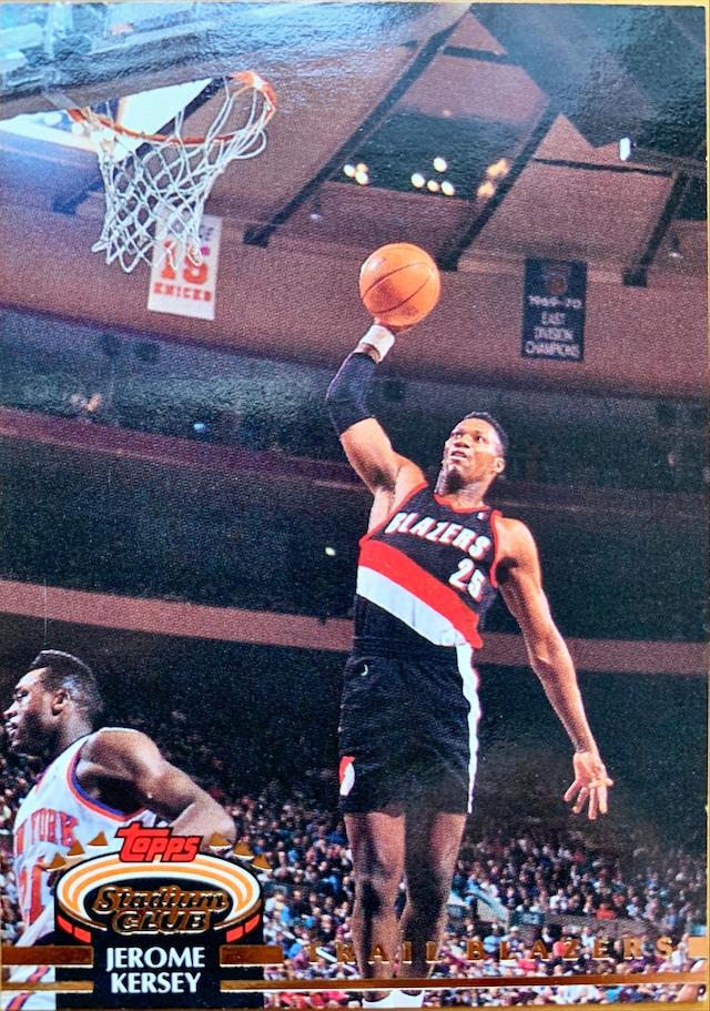 NBAカード 92-93TOPPS Jerome Kersey #99 TRAILBRAZERS