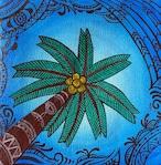 Palm tree in NOOSA