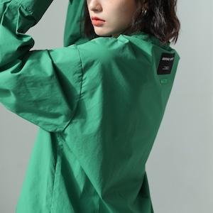 Green back design shirt(グリーンバックデザインシャツ)b-041