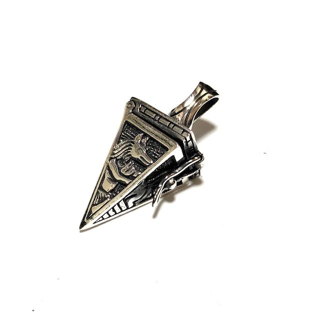 シルバー925 ネックレストップ トライアングル ピラミッド