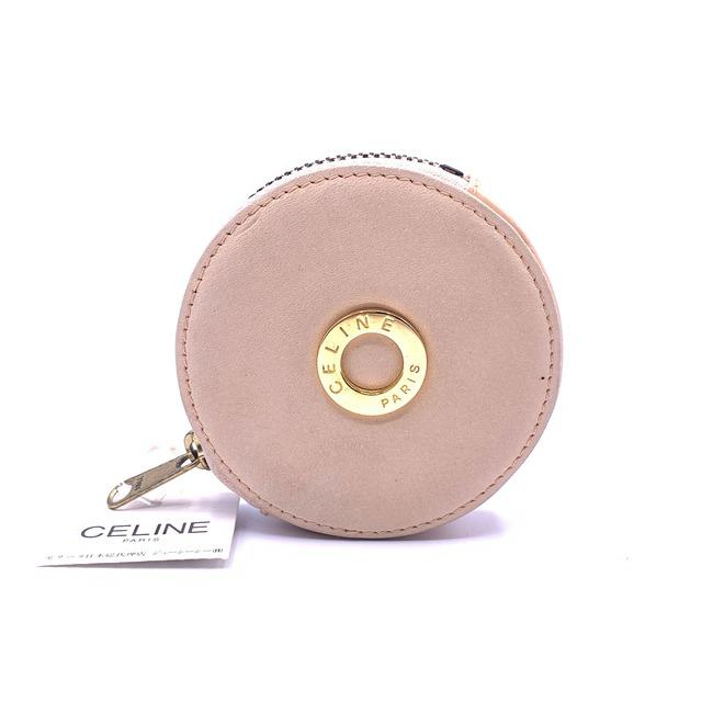 CELINE セリーヌ サークル ロゴ コインケース 小銭入れ ウォレット サーモンピンク サークル vintage ヴィンテージ オールドセリーヌ 財布 Accessories 5nf5r8