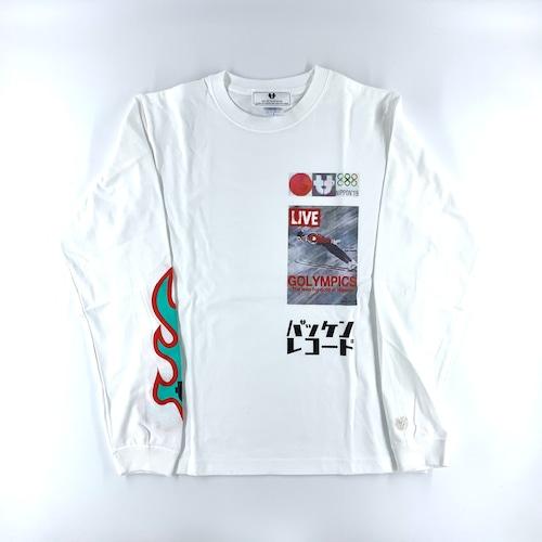 "SAPPORO ""GOLYMPICS"" BAKKEN RECORD Long sleeve T-shirts"