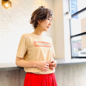 DOUBLE STANDARD CLOTHING (ダブルスタンダードクロージング)  ヴィンテージレアルツイストロゴTシャツ 0208100212