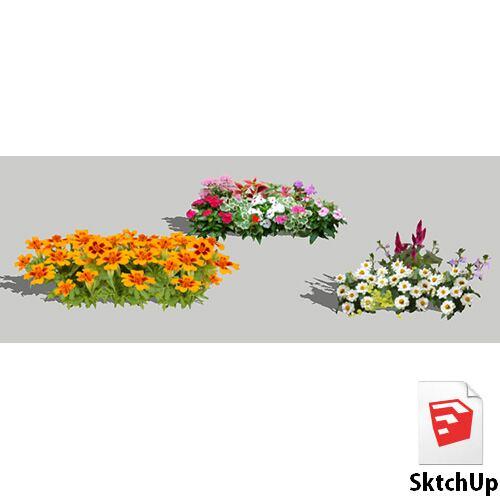 樹木SketchUp 4t_019 - 画像1