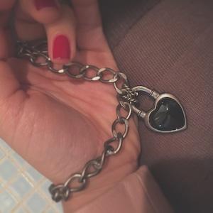 Never End® Bracelet Silver/Black  ♯1759 ネバー・エンド ブレスレット シルバー/黒