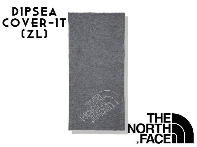 【TNF】 DIPSEA COVER-IT ZL(Mix Charcoal Line Logo)