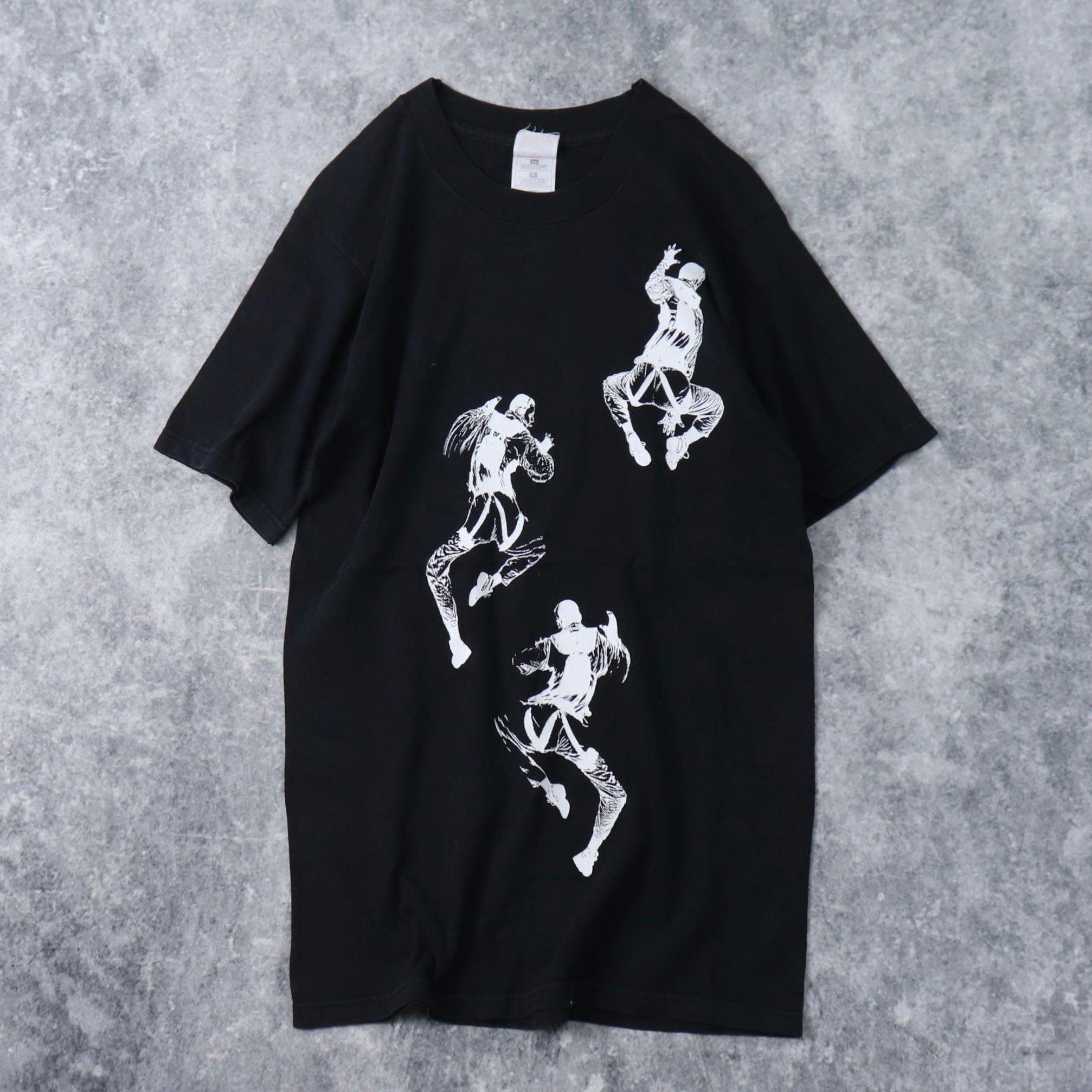 90年代 USA製 Tシャツ WKinteract アートT A211