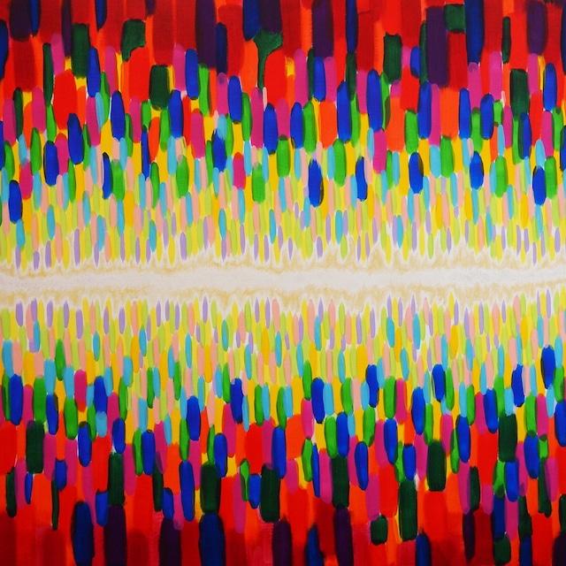 絵画 インテリア アートパネル 雑貨 壁掛け 置物 おしゃれ 現代アート 宇宙 模様 ロココロ 画家 : 眞野丘秋 作品 : 宇宙模様
