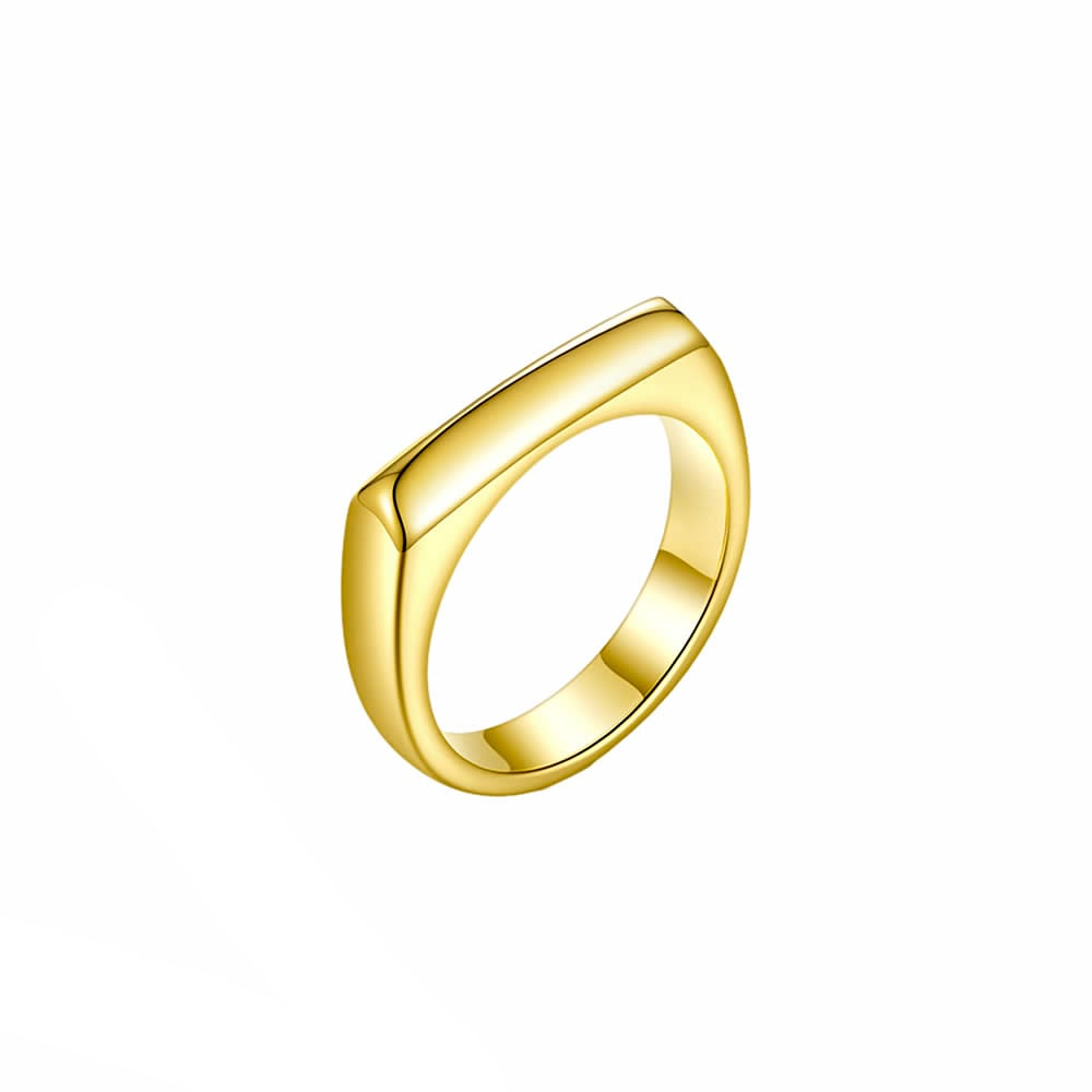 Square forme ring リング