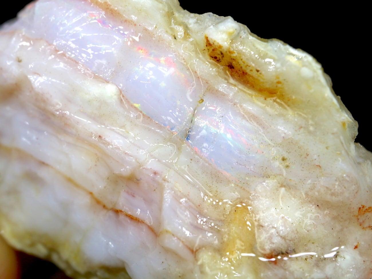 ※SALE※スペンサーオパール アイダホ産 27,2g SCO042 原石 鉱物 天然石 パワーストーン