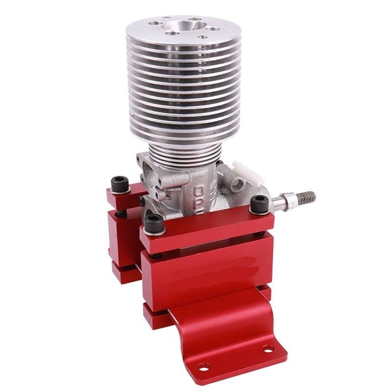 ◆エンジン06~160適用 エンジンテストベンチ アルミ合金CNC加工 新品エンジンの慣らし試運転器具