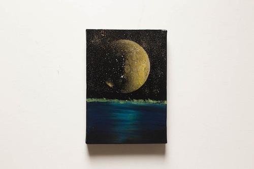 Moon light ocean