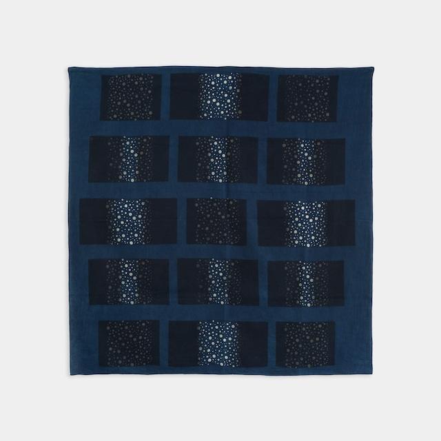 Shiori Mukai Textile 040 向井詩織 ブロックプリント 約100×98cm