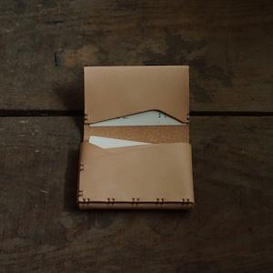 名刺 / カード入れ 25 牛ヌメ革