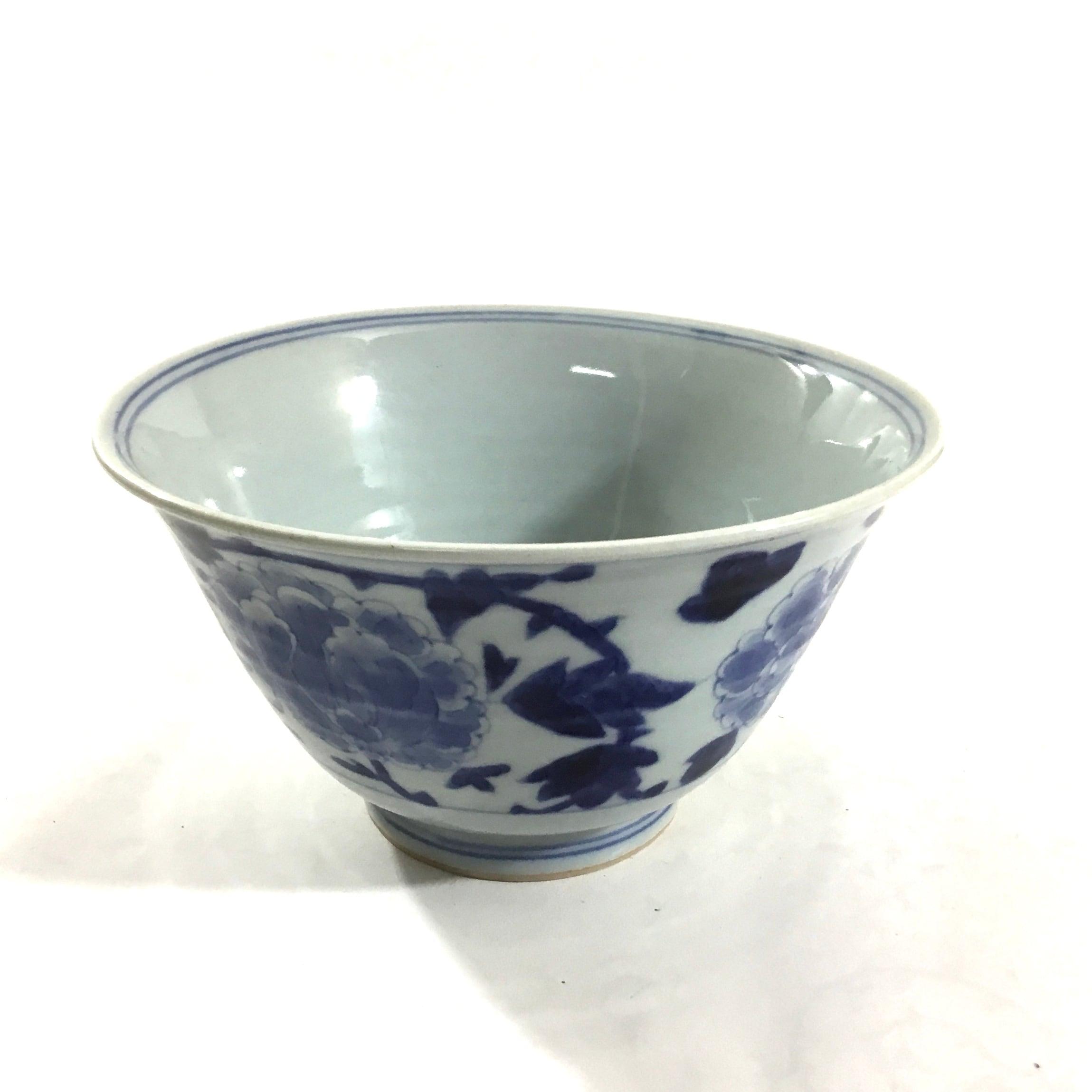牡丹唐草麺鉢