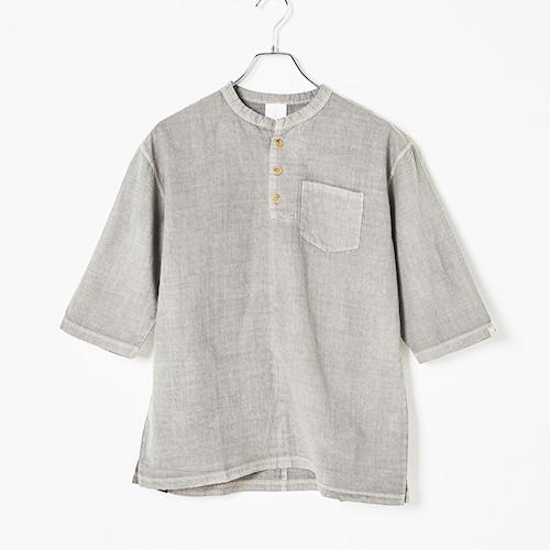 KB01-SAN01 KIBITSUMI×SANGOU 伊勢木綿 米墨染 Tシャツ